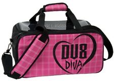 DV8 DIVA 2 Ball Deluxe Shoulder Tote Bowling Bag with shoe pocket