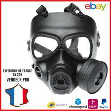 Masque de protection Airsoft style ''masque à gaz'' avec ventilateur