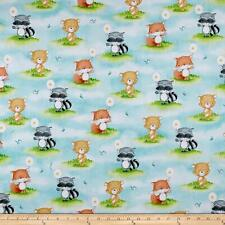 Hangin' Out   Cotton Fabric Quilting Treasure  Animal Row   By the Yard   BFab