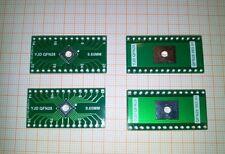 4 * QFN 28 pin 0,65 mm à DIP À faire soi-même PCB Carte Adaptateur prototype prototype Maker