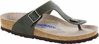 Birkenstock Gizeh Birko-Flor Soft-Footbed Desert Soil Men Sandals footbed - NEW