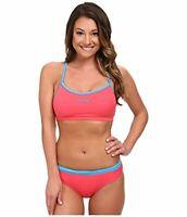 Zoot Sports Women's Interval Swim Set Pink Grapefruit/Maliblue Swimsuit Set LG