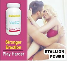 100% Ayurvedic Stallion Power Sex Power Booster Capsules For MEN.