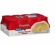 Box of 12 Campbell's Condensed Chicken Noodle Soup (10.75 oz. each, 48 ct.)