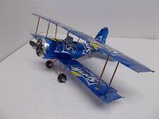 Aluminum soda can handcrafted airplane/SPRITE ZERO  /BI-PLANE