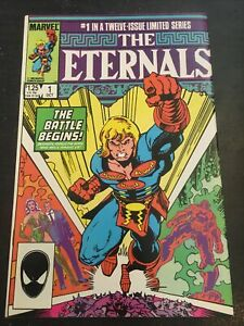 The Eternals#1 Awesome Condition 8.5(1985) 1st Phastos,Karygmax App!!