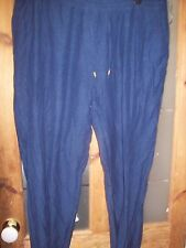 Ladies being casual navy trousers, size 22.