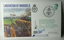 More details for ww2 liberation of brussels andre wenes cdt inter allied resistance signed cover