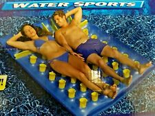 Inflatable Large Two Person Pool Lounger Mattress