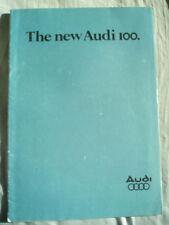 Audi 100 range brochure Jan 1978