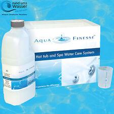 AquaFinesse Whirlpool und Spa Wasserpflege Box mit Tabletten zur Desinfektion