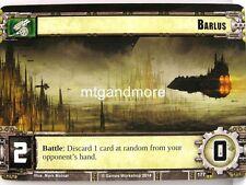 Warhammer 40000 Conquest LCG - Barlus  #177 - Base Set