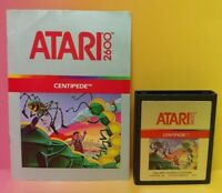 Atari 2600 Centipede Game & Instruction Manual Tested Works Rare