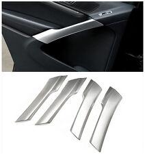 For Volkswagen Tiguan 2009-2015 ABS Interior Inside Door Armrest Strip Trim 4pcs