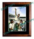 SHANE WARNE LAST MCG TEST LARGE A3 CRICKET PHOTO