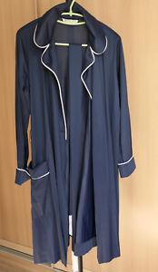 Robe Vanity Fair nylon dark blue size S 16