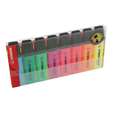 STABILO PATRON ORIGINAL STYLOS SURLIGNEUR Portefeuille of 8 couleurs assorties