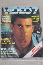 Video 7 n° 26 de 1983-Mel Gibson-Coluche-Lee Marvin-Diane Keaton-S.Leone-Vidcom
