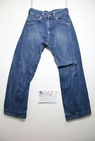 Levi's engineered 660 (Cod.B212) Tg.40 W26 L32 Donna jeans usato destroy