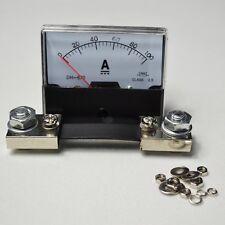 Amp DH-670 DC Analog 0-100A 75mV Panel Amperemeter Strom Meßgerät + Shunt
