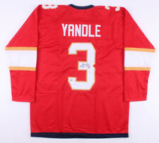 Keith Yandle Signed Florida Panthers Ice Hockey Jersey (Beckett COA) Autographed