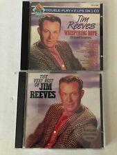 Jim Reeves Whispering Hope & The Very Best of Jim Reeves CD's - RARE