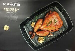 Bakemaster- Roasting Pan with Rack