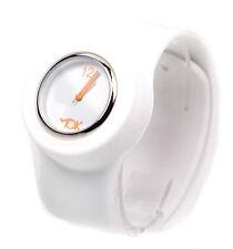 Tick TOK Bianco schiaffo Bandz schiaffo orologio da polso in Silicone Uomo Donna Ragazzi e Ragazze
