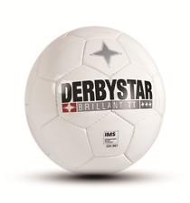 Derbystar Top-Trainingsball Bundesliga Brillant TT Classical White IMS Size 5