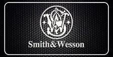 Smith & Wesson Gun Pistol License Plate Man Cave