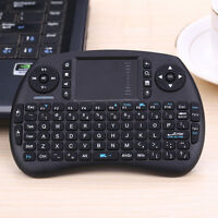 iPazzPort Mini 2.4GHz Wireless QWERTY Keyboard Portable Hand-Held with Touchpad