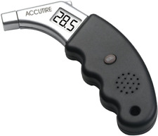 Accutire Talking Digital Tire Pressure Gauge, English And Spanish