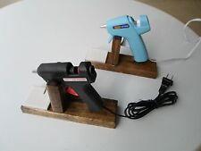 Handmade Hot Glue Gun Holder Wood Stand for Mini Glue Guns