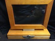 2003 100th Anniversary Harley-Davidson Wooden Desktop Picture Frame