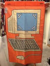 New listing Computer / Technology Handmade Decorative Flag ; School, Repair Shop