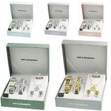 Ladies Jewellery Watch Gift Set Womens Necklace Earrings Bracelets Valentine Set