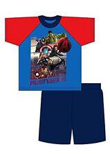 Vêtements bleus Marvel pour garçon de 2 à 16 ans en 100% coton