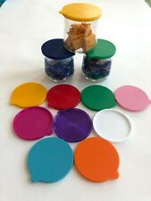 Oui Yogurt jar lids - Pick Your Colors - 27 Colors ��💗🧡💛 💚💙💜🖤
