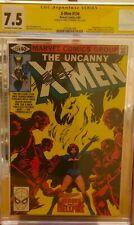 Uncanny X-Men #134 CGC 7.5 SS Claremont 1st App Dark Phoenix Marvel 1980