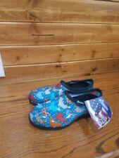 Sloggers Womens Size 8 Abstract Chicken Polka Dot Waterproof Rain Garden Shoes