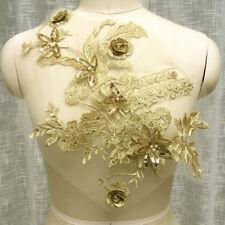 Vestido de baile Vestido de Disfraz de planta Bling diamante de imitación de noche ribete de encaje y apliques 1PC
