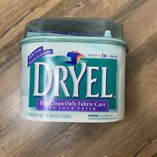 Dryel At Home Dry Cleaner Starter Kit 16 Garments 4 Loads New Factory Sealed