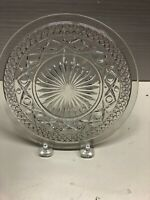 """VINTAGE IMPERIAL GLASS CAPE COD GLASS BREAD  BUTTER PLATES 6 1/2"""""""