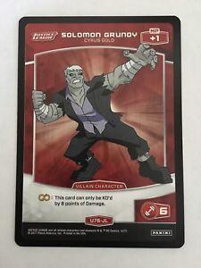 Meta X DC Justice League U76-JL Solomon Grundy Trading Card Panini