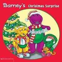 Barney's Christmas Surprise  (ExLib) by Scholastic, Inc. Staff; Mark S. Bernthal