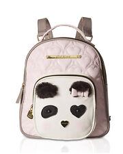 Betsey Johnson Mini Small Travel Gym School Backpack Bookbag Tote Purse Bag