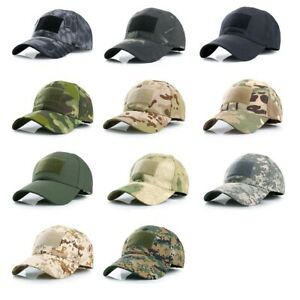 Airsoft Outdoor Multicam Camouflage Adjustable Cap Mesh Tactical Military Army