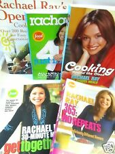 Lot of 6 Cookbooks RACHAEL RAY Food Network FREE SHIP 365 KIDS TOGETHERS REPEATS