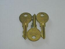 3 mal Originalschlüssel L550 für Löwen-Matrixtür