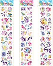 6 Sheet My Little Pony Puffy Stickers